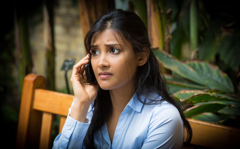 Woman receiving trauma counseling