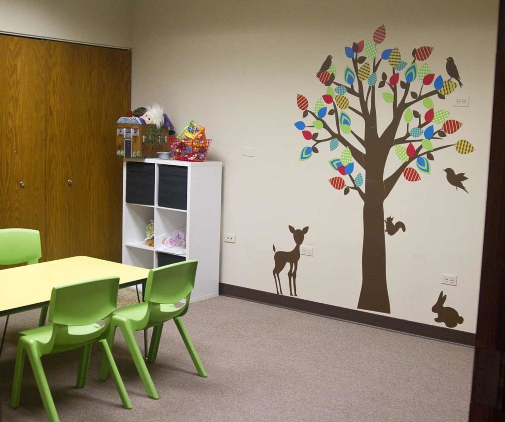 Hoffman Estates play therapy room